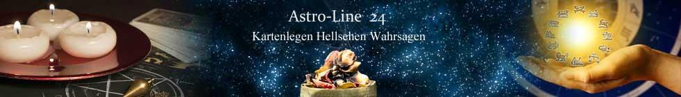 Kartenlegen Wahrsagen Hellsehen bei Astro-Line24